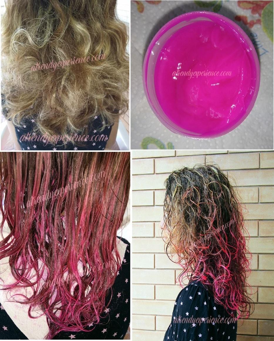 la riche direction colore rosa risultato