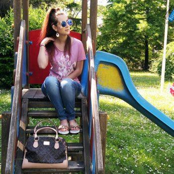 riflessioni al parco outfit