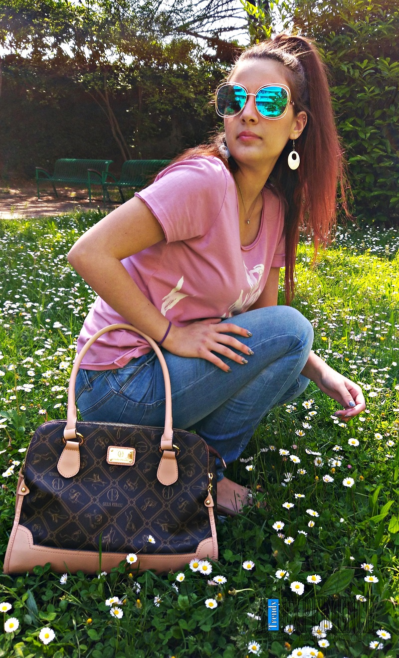 outfit shooting al parco e riflessioni