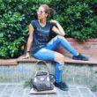 Comodamente trendy è il mio look #outdoor. Scarpe comode, abbigliamento #fashion confortevole e perché no... Quella piccola punta di veleno che tutti meritano di leggere sperando in una riflessione silente #outwear #outfitoftheday #atrendyexperience  #ironictee #tee #tshirt  #occhialidasole #sunglasses #eyebside #madeinitaly #borse #borsaitaliana  #bag #giuliapieralli #artigianatoitaliano #watch #orologio #ottoweitzmann #weitzmannwatches #shoes  #eveneodd #fashiongirls #fashiongram #instafashion #atrendyexperience #bloggeritalia #oodt