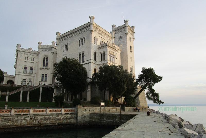 Shooting al Castello di Miramare
