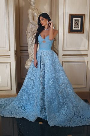 Partydress mood: Shades of Blue