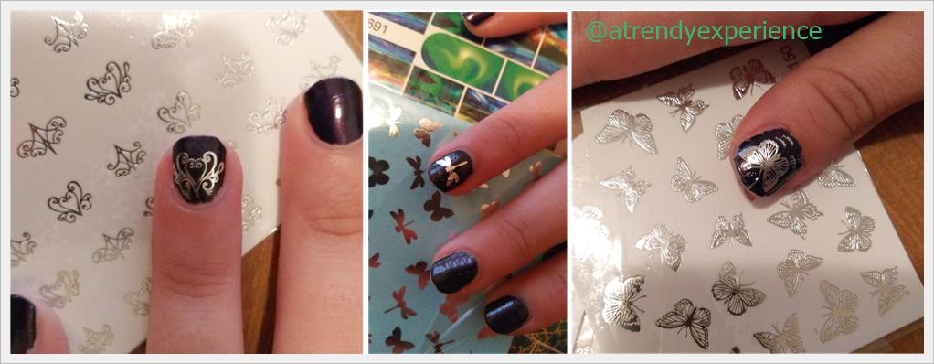 adesivi unghie colorati