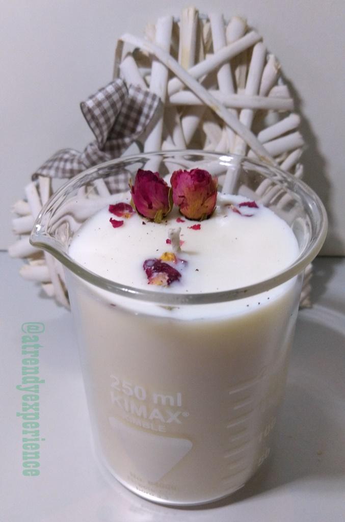 candele botaniche 100% biodegradabili