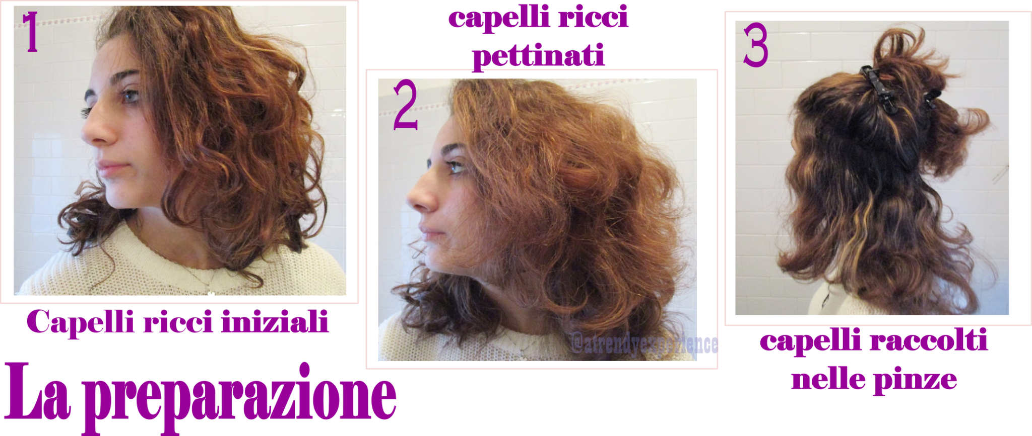 piastra golden curl purple prova