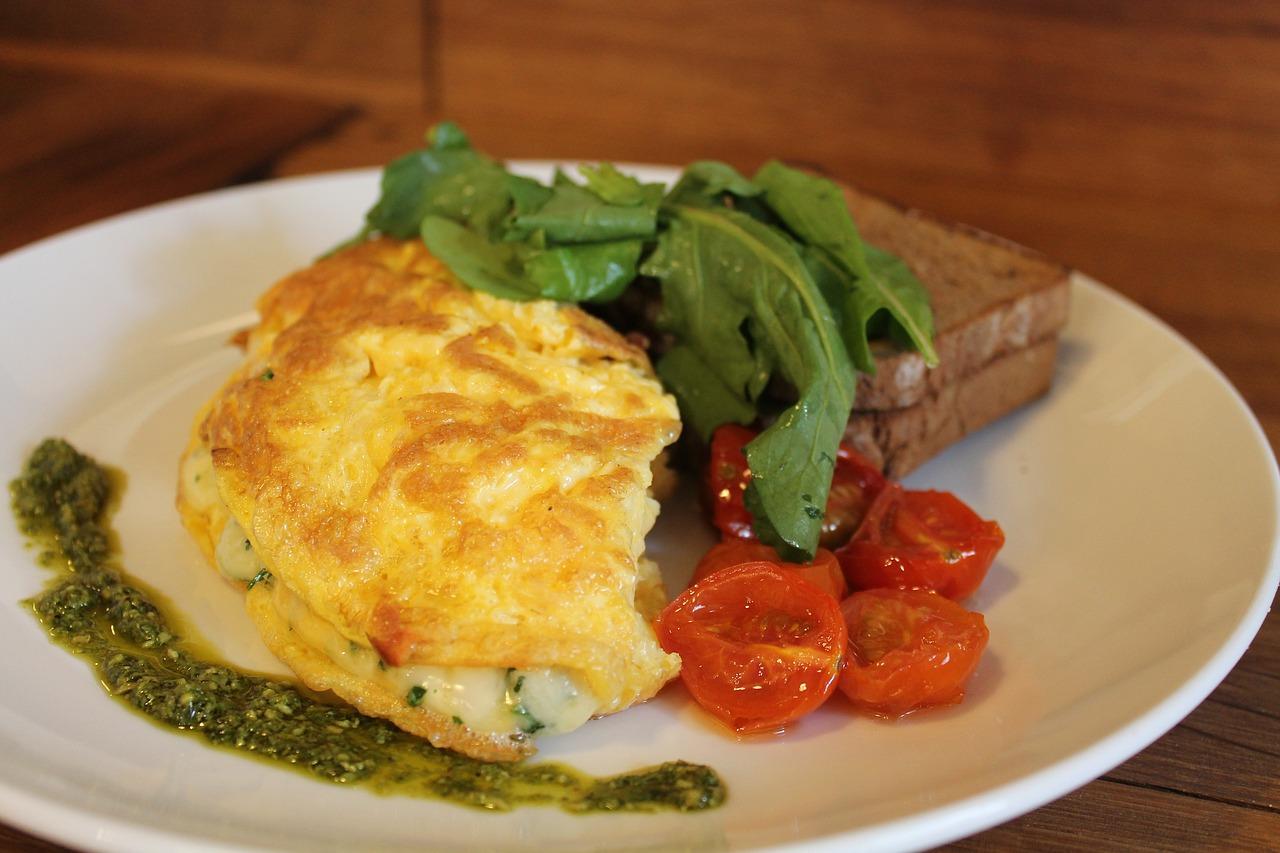 come si preparano le omelette al prosciutto