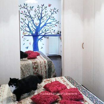 Come decorare una parete con la pittura murale (1)