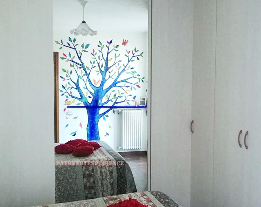 Come decorare una parete con la pittura murale a trendy experience blog italia - Decorare una parete ...