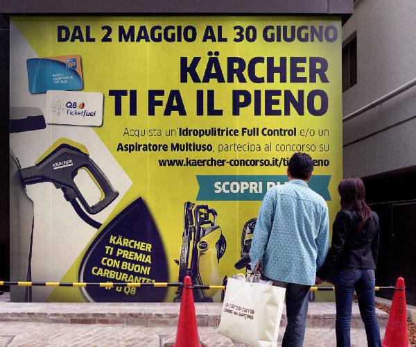 Kärcher e il concorso Kärcher ti fa il pieno