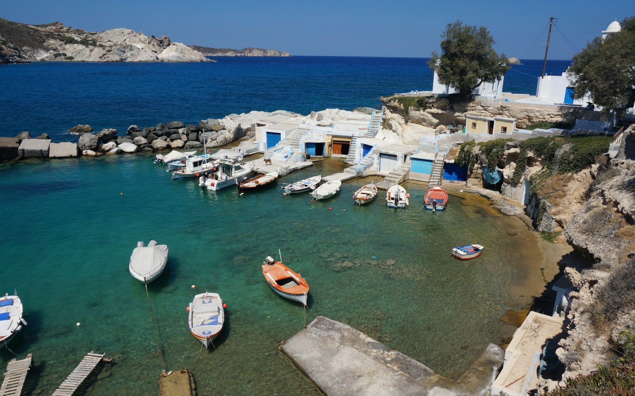 Un segreto ben custodito: l'isola di Milos