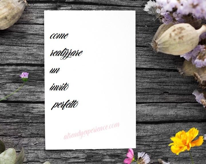 Creare inviti fai da te originali per tutte le occasioni