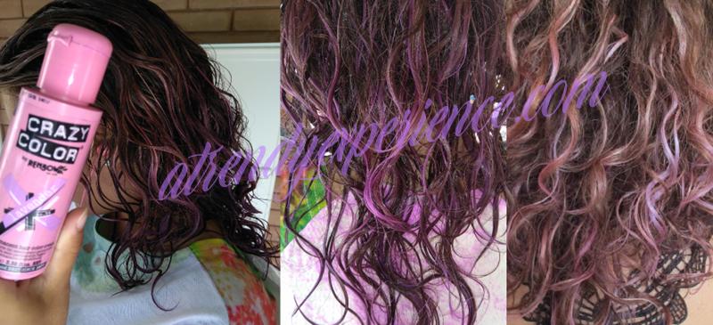 capelli viola fai da te