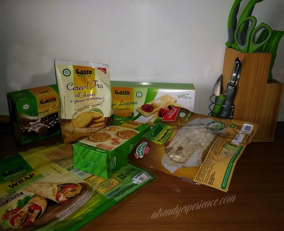 alimenti senza glutine Giuliani Giusto Senza Glutine