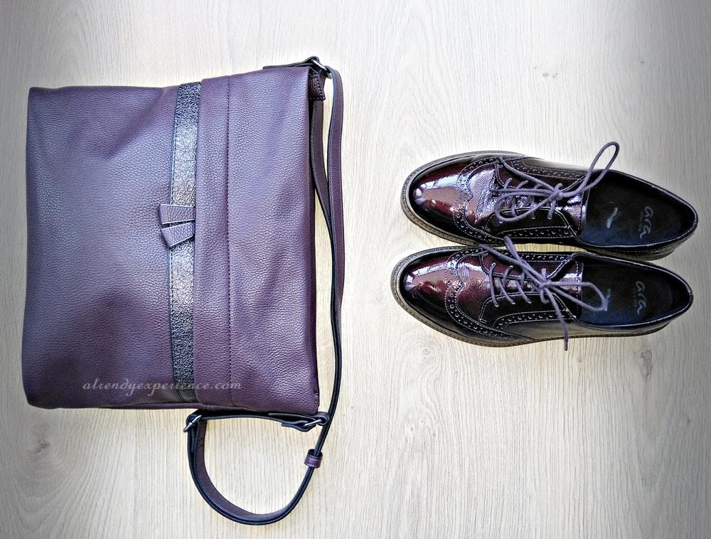 abbinamento borsa e scarpe moda