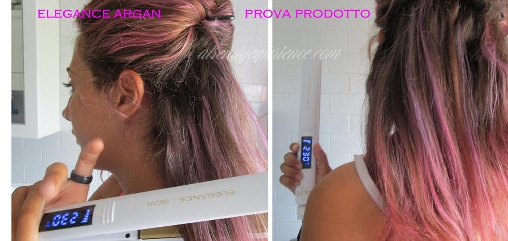 Elegance Argan la piastra per capelli Gama limited edition
