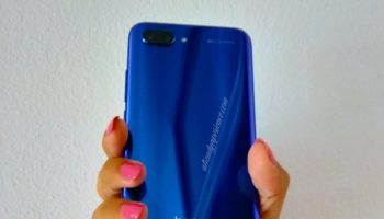 smartphone honor 10 blue