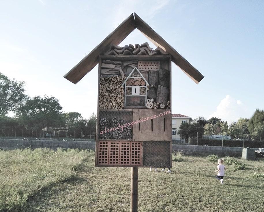 bug hotel hotel degli insetti