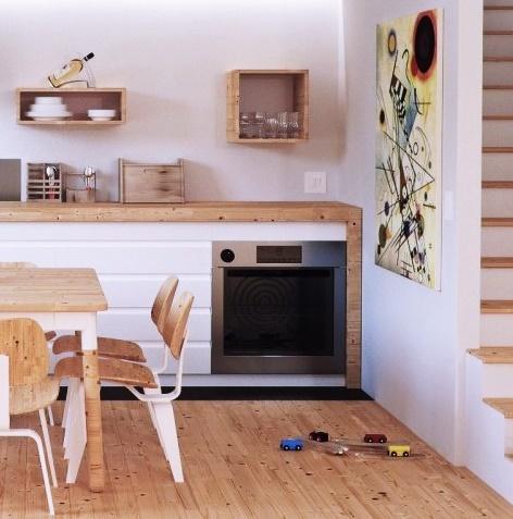 Soluzioni salvaspazio per una cucina molto piccola - A Trendy Experience