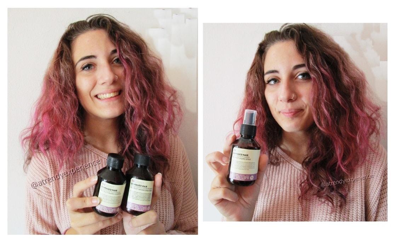Linea capelli rovinati Damaged Hair di Insight