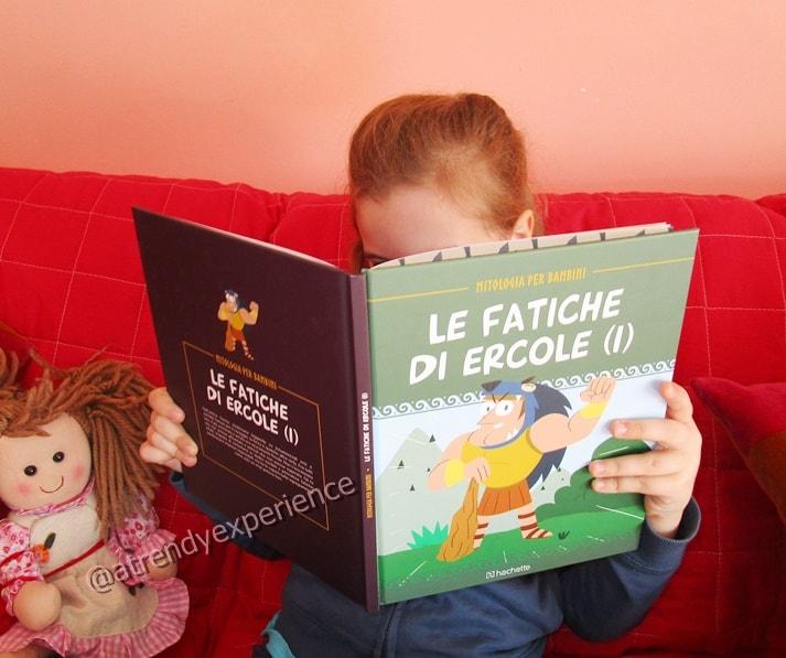 mitologia per bambini hachette fascicoli collezione libri per bambini