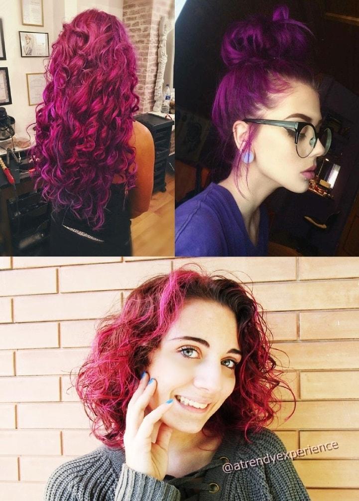 purplehair capelli viola nuova tendenza 2019