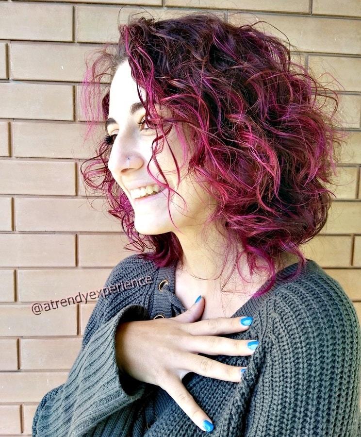capelli viola purple hair nuova tendenza capelli 2019