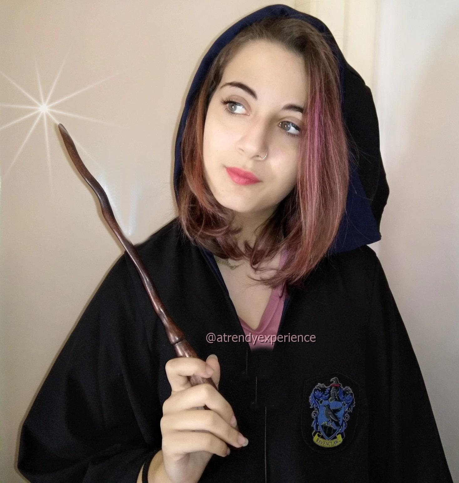 bacchetta Harry Potter in vero legno acquistata su Always Wands