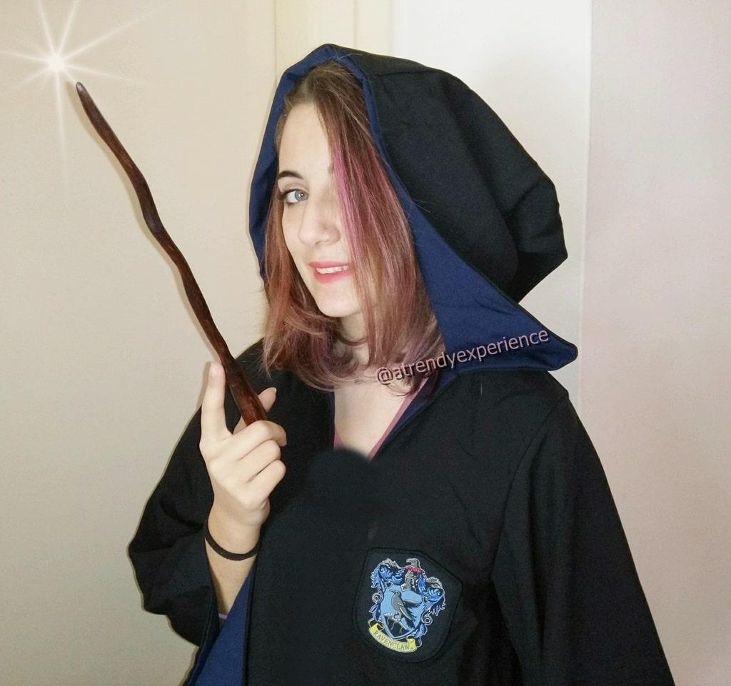 bacchetta Harry Potter in legno di faggio comprata su Always Wands