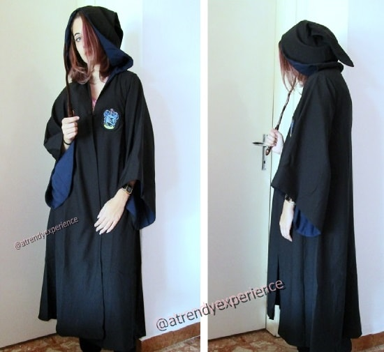mantello di Harry Potter Costume cosplay Corvonero