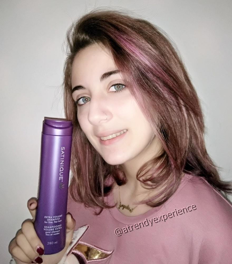 shampoo tricologico Amway shampoo extravolume SATINIQUE