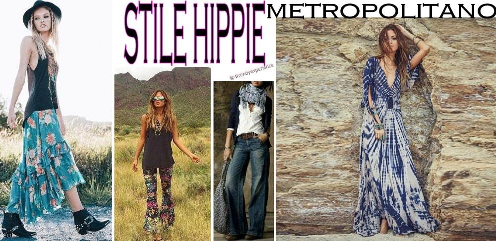 Tendenze moda: stile hippie metropolitano