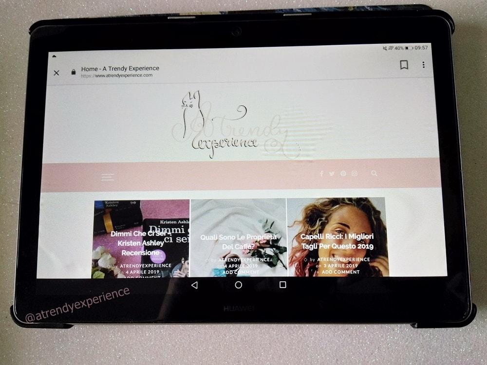 Recensione Huawei Mediapad T3 10 tablet