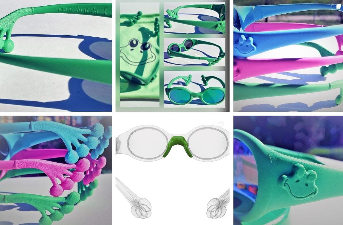caratteristiche occhiali da sole froggy