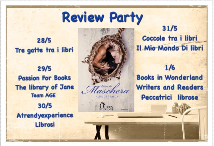 Oltre La Maschera di Alda La Brasca Review Party I blog aderenti