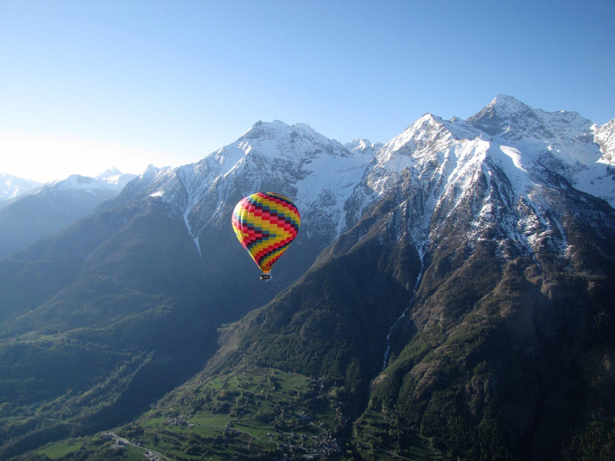 volo in mongolfiera dove si fa