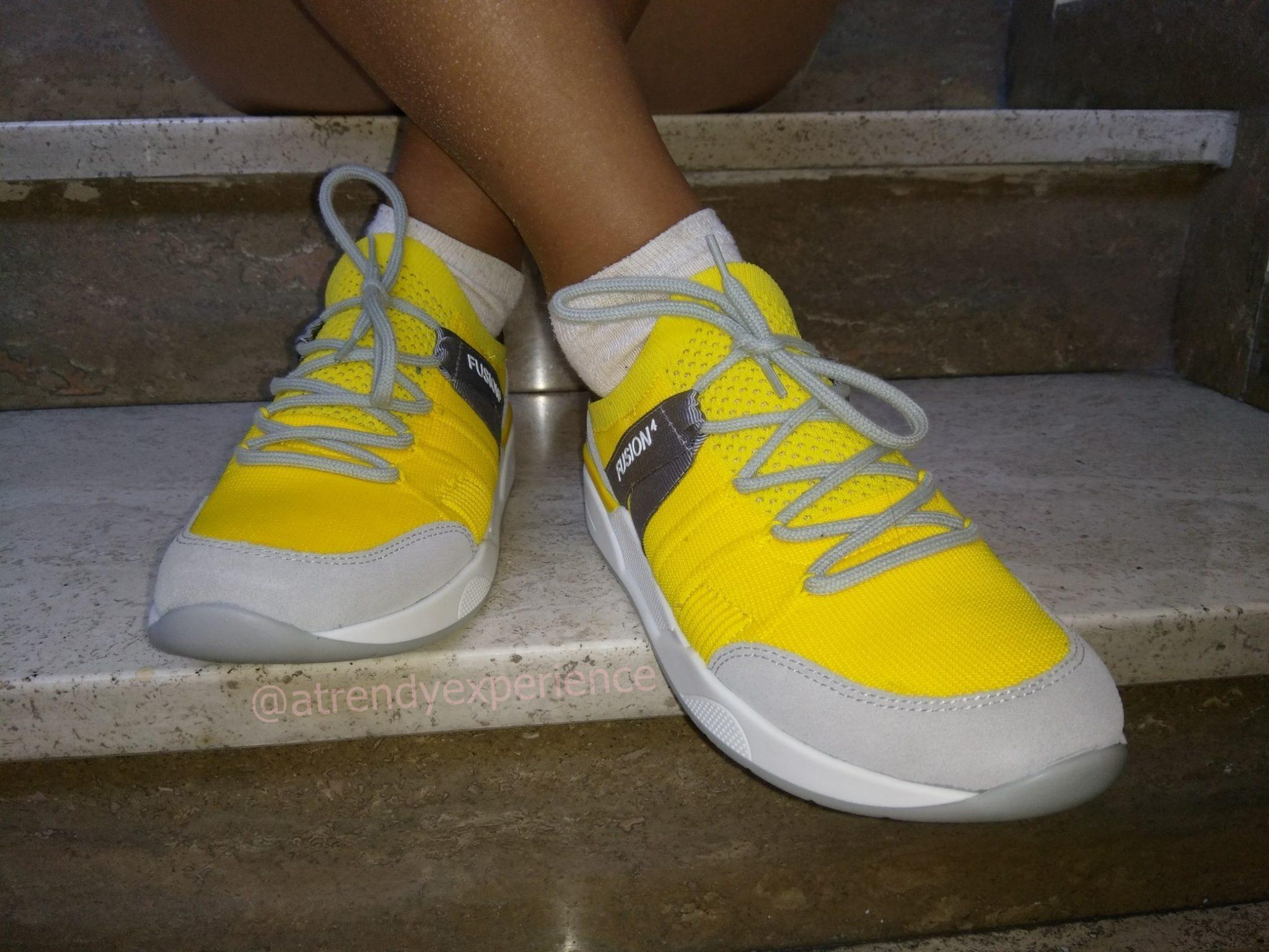 ara shoes ara fusion4 sneakers donna gialla
