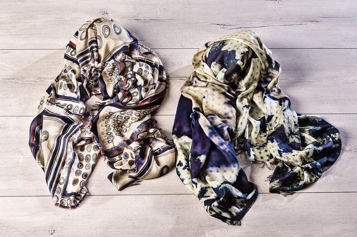 """accessori moda """"D'Aniello"""" foulard artigianali donna"""