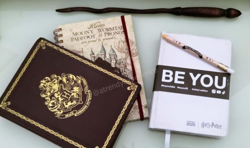 Diario BE YOU Harry Potter l'agenda per gli amanti di Hogwarts