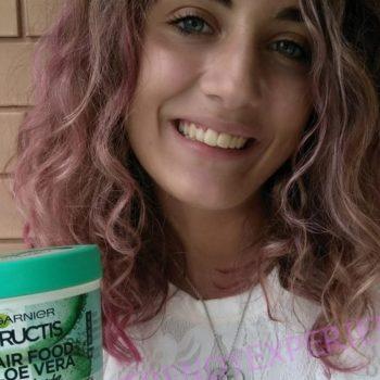 Garnier Fructis Hair Food Aloe Vera Maschera capelli riparatrice 3 in 1