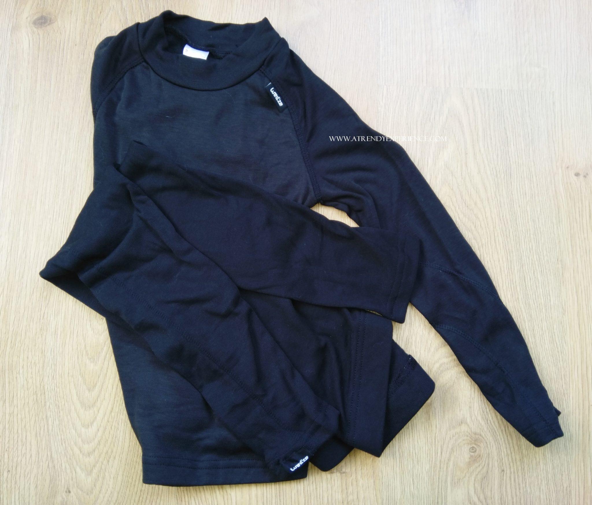 abbigliamento intimo termico cos'è e cosa scegliere e come vestirsi