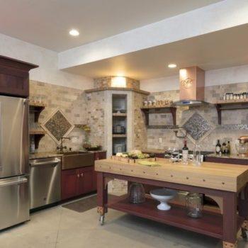 Idee per la casa: arredamento rustico per una cucina accogliente
