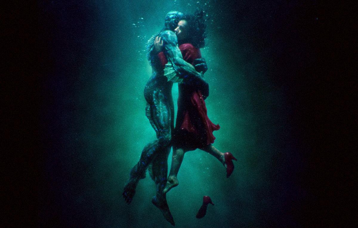 la forma dell'acqua di guillermo de toro film romantico 2018