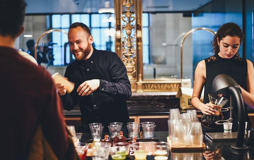 divise per camerieri e bartender