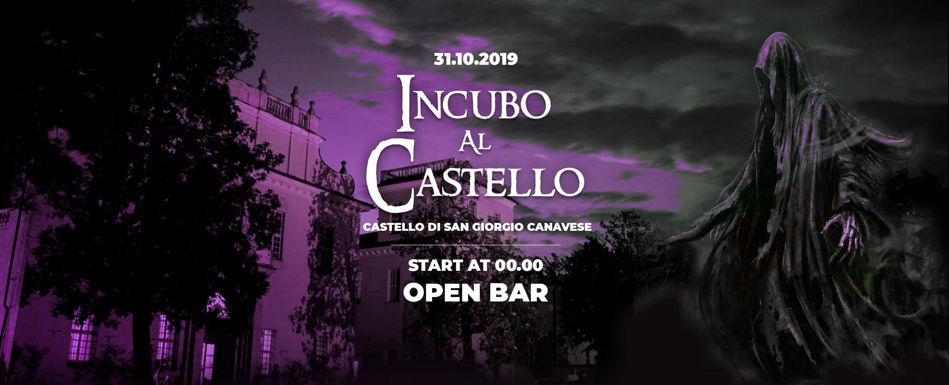 halloween 2019 evento incubo al castello di san giorgio canavese