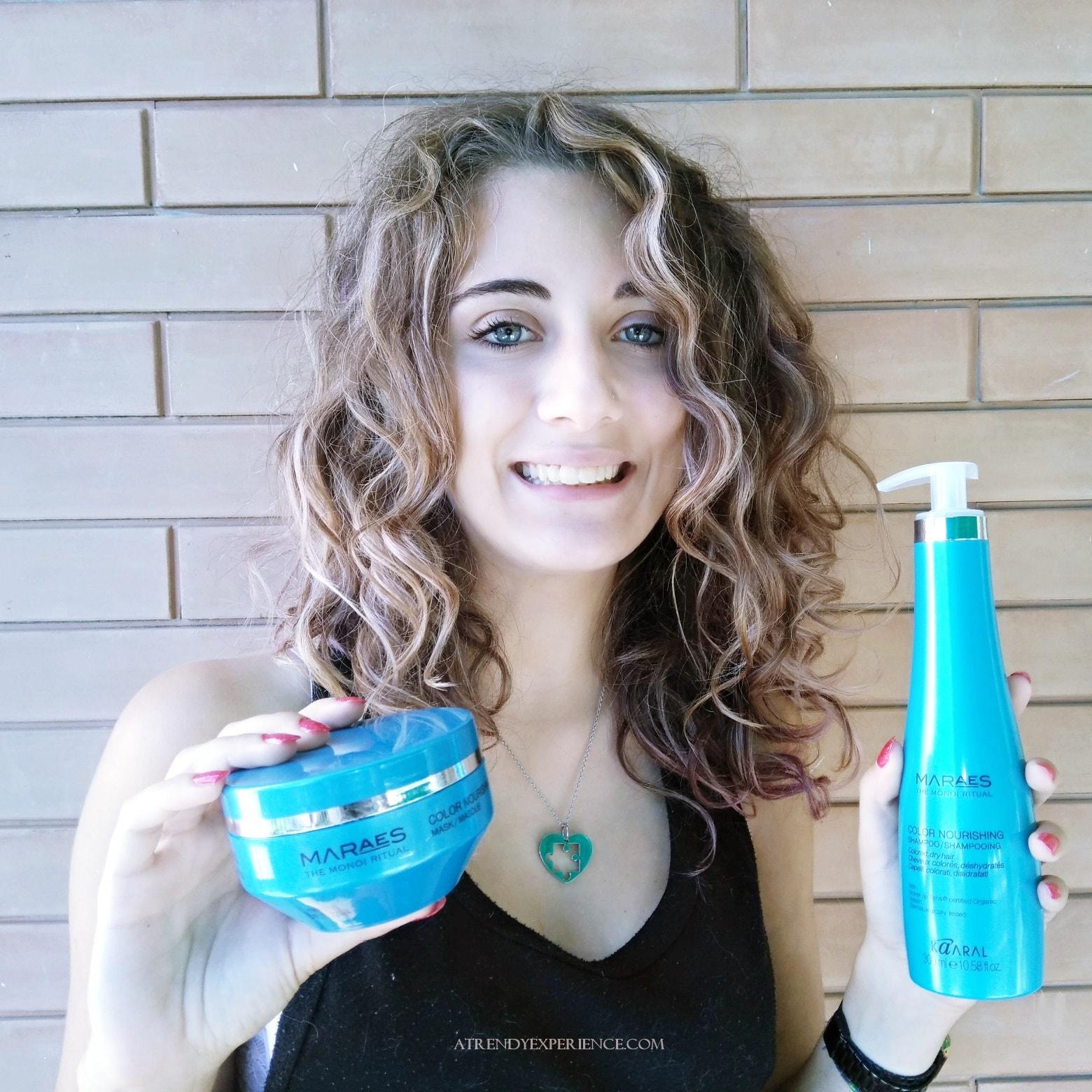 Kaaral Maraes Color Nourishing Shampoo e maschera