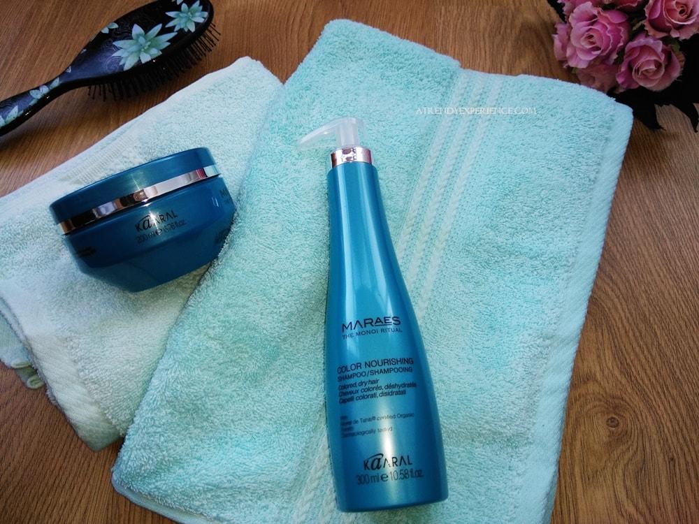 Kaaral Maraes Color Nourishing Shampoo e maschera nutrienti per capelli colorati disidratati recensione
