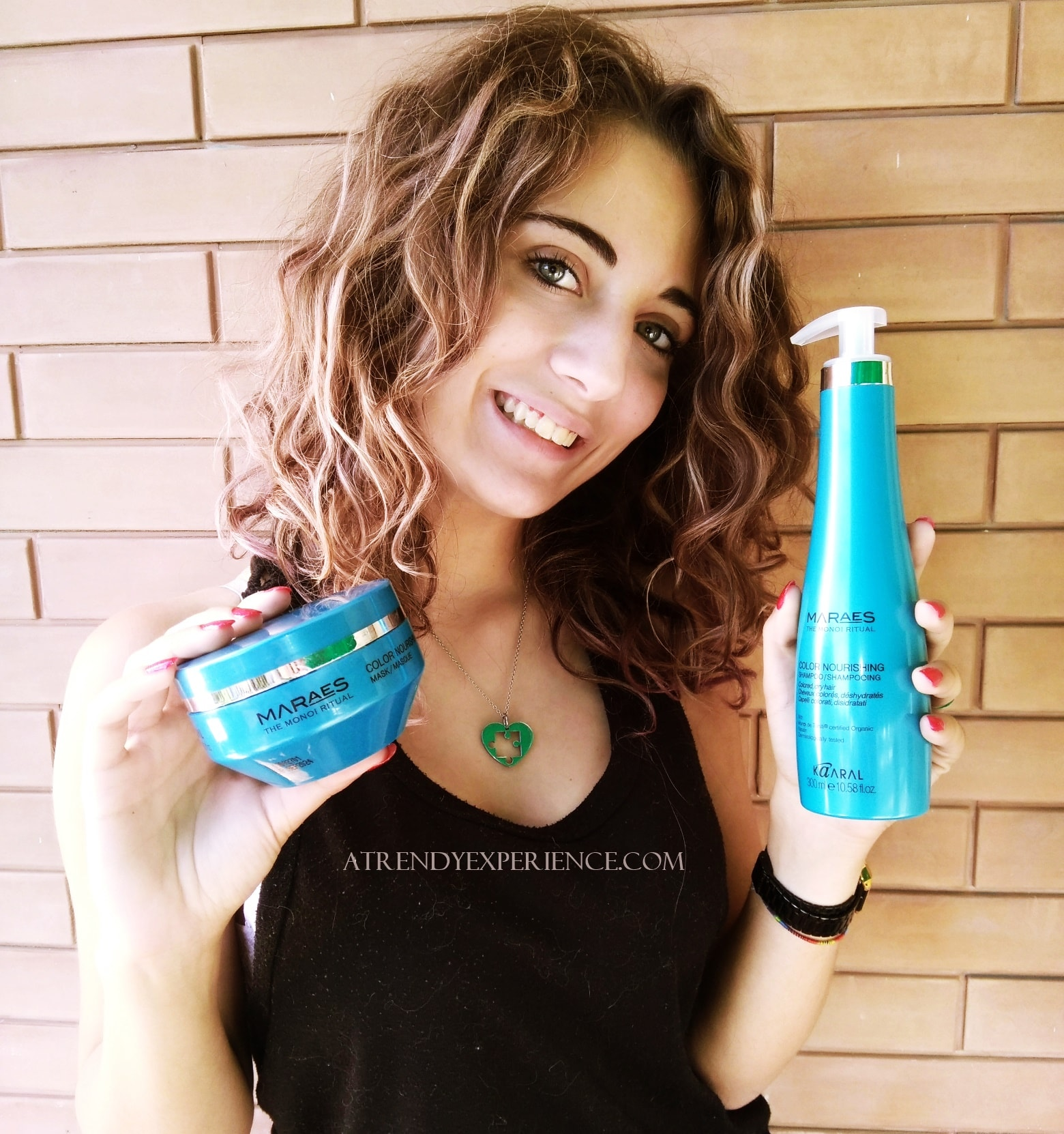 recensione di Kaaral Maraes Color Nourishing Shampoo e Maschera per capelli disidratati e colorati