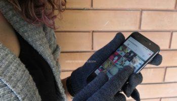 guanti per smartphone guanti touch screen per schermo capacitivo
