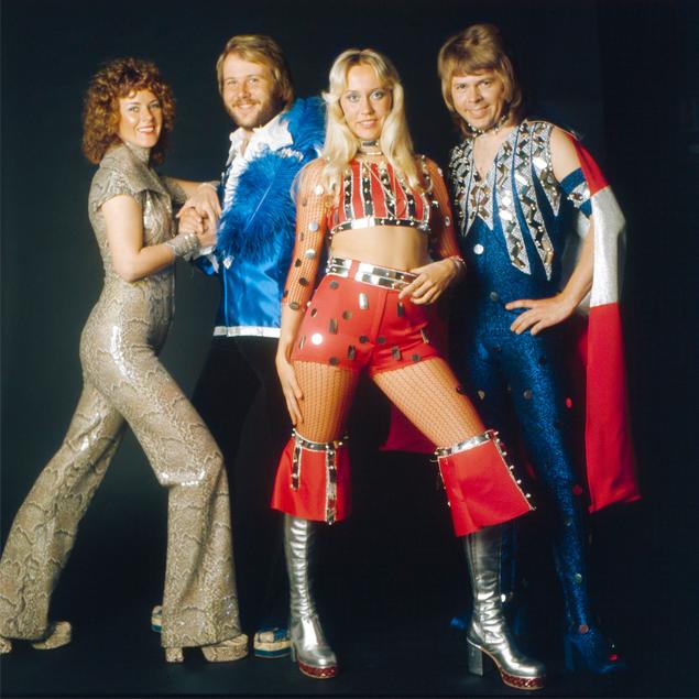 gruppo musicale Abba glam rock