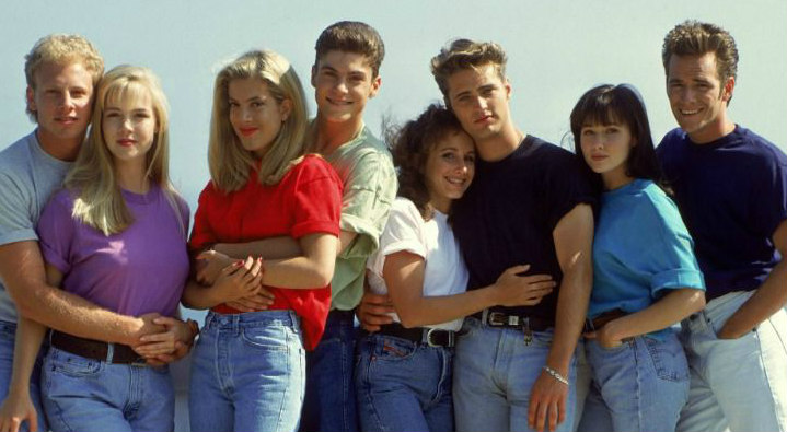 Beverly Hill 90210 cast al completo